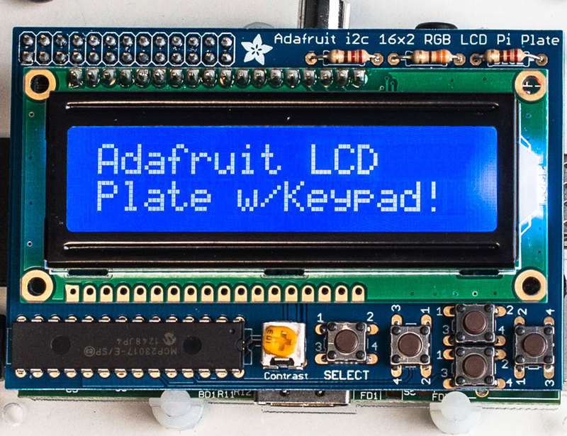 Paspberry Pi LCD